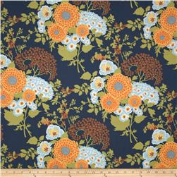 Joel Dewberry Botanique Bold Bouquet Asparagus Fabric