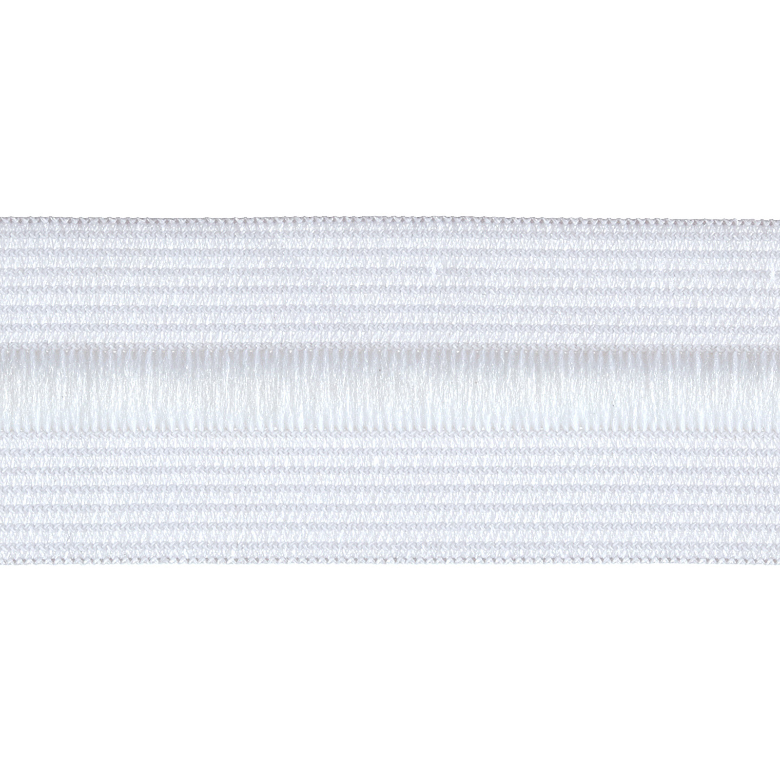 1-1/4'' Drawcord Elastic White by Notions Marketing in USA