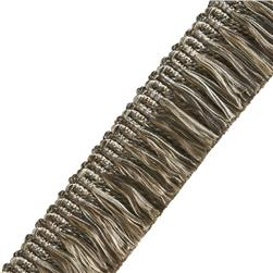 "Jaclyn Smith 1.5"" 02925 Brush Fringe Stone"