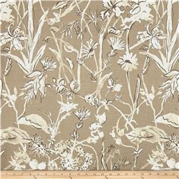 Lacefield Garden Party Linen Blend Basketweave Sand Cambric