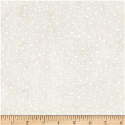 Moda Merry Scriptmas Snow Flurries Chalk