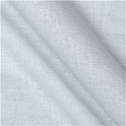 Linen/Cotton Voile White