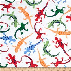 Juvenile Cotton Knits Lizards Multi