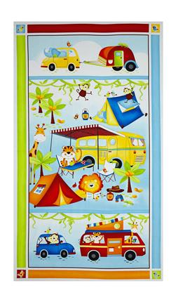 "Jungle Camp 24"" Panel Multi"