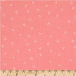 Dear Stella City Life Triangle Dot Coral