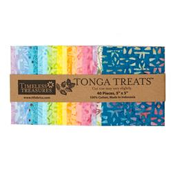 "Timeless Treasures Tonga Batik 5"" Square Packs"