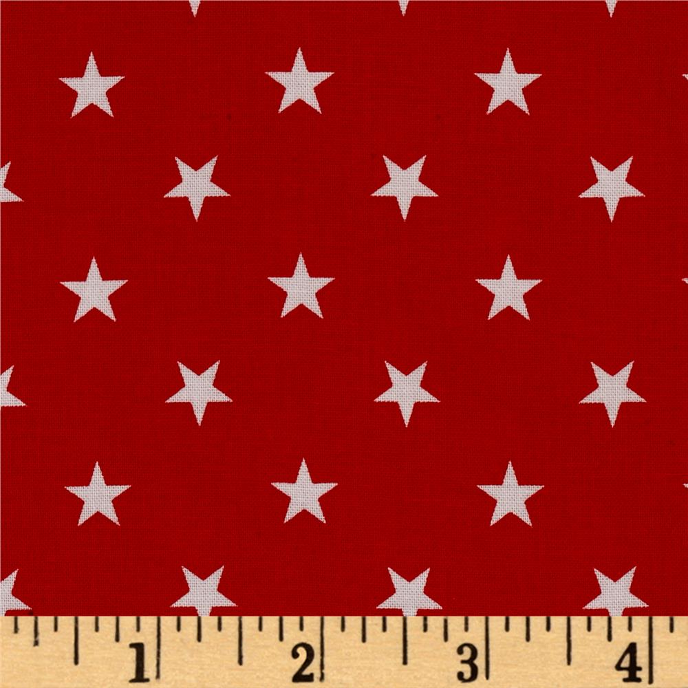 Kaufman Sevenberry Classiques Med Star Red
