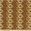 Timber Lodge Flannel Diamond Stripe Forest Green