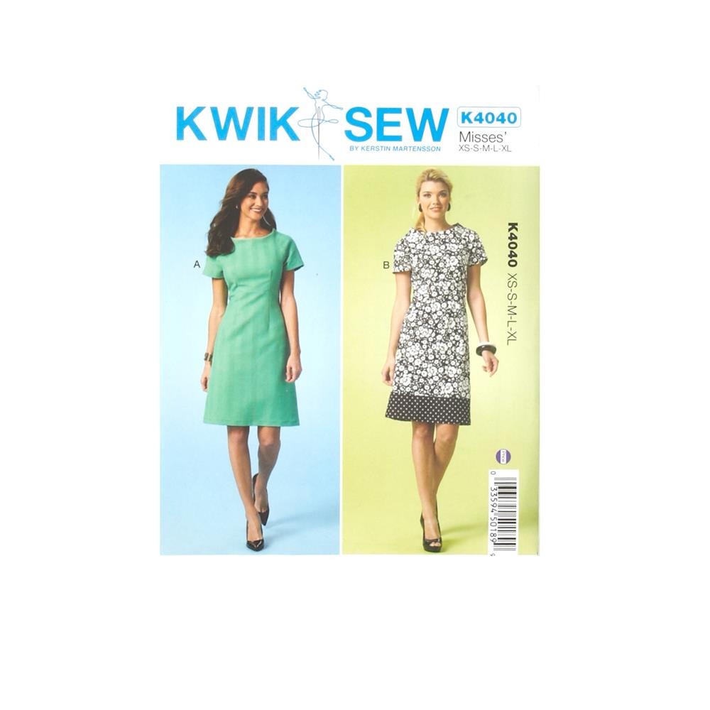 Kwik Sew Misses Dress Pattern