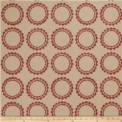 Fabricut 50030w Cercle Wallpaper Merlot 03 (Double Roll)