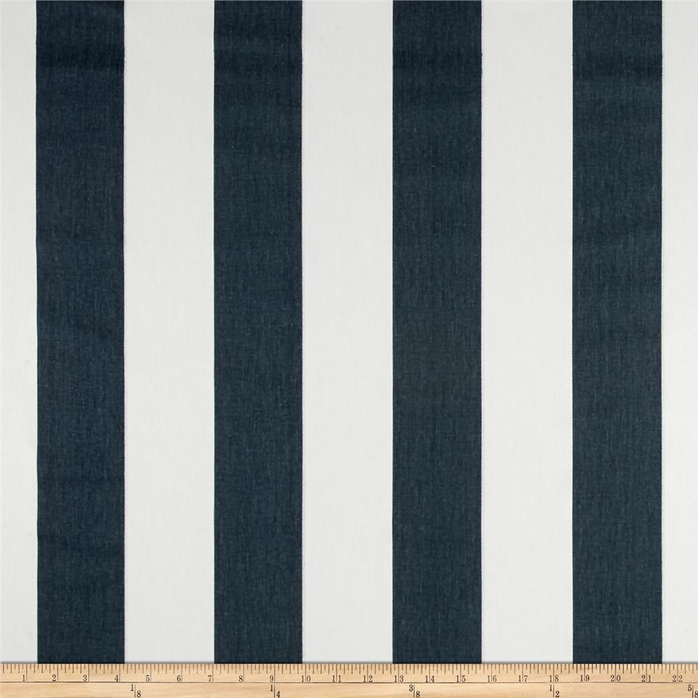 Premier Prints Vertical Stripe Twill Gunmetal