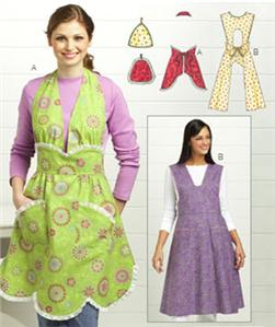 Kwik Sew Vintage-Look Aprons & Pot Holders Pattern