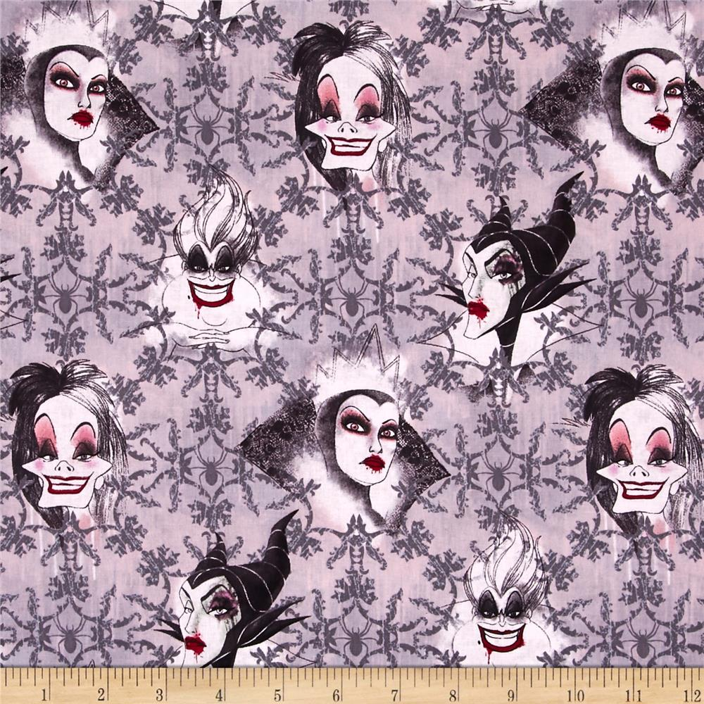 Disney Villains Face Toss Grey