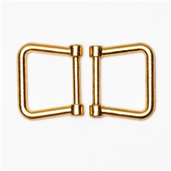 "Gold Flair Purse Handle Hooks 5/8"" 2/Pkg"