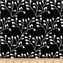 Riley Blake Mod Studio Floral Black