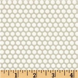 Moda Basics Bliss Dot Little Ruby Grey