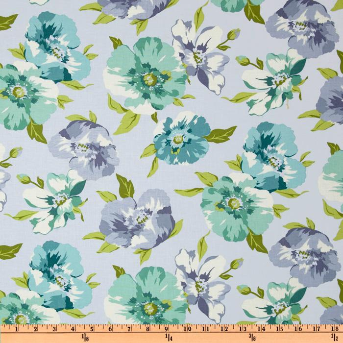 Breeze Floral Pale Blue