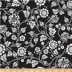 Riley Blake RoseCliff Manor Vine Black