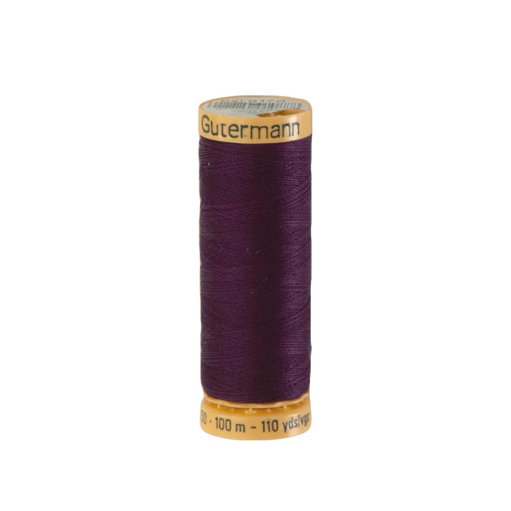 Gutermann Natural Cotton Thread 100m/109yds Eggplant