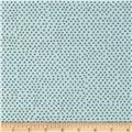 Pixie Square Dot Dusty Aqua