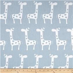 Premier Prints  Gisella Twill Weathered Blue/White