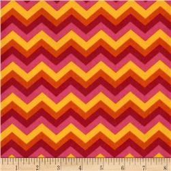 B-Bold Flannel Chevron Hot Pink