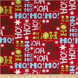 Moda Ho! Ho! Ho! Santa Suit Red