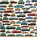 Kanvas Times of Your Life Retro Cars Cream