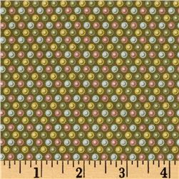 Windham Carolyn Multi Dot  Green