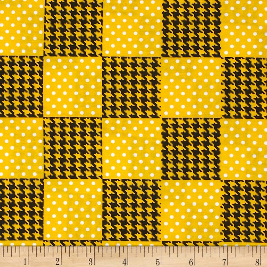 Spotlight Patchwork Golden Yellow - Discount Designer ...