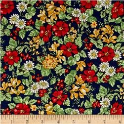 Kaufman London Calling Lawn Floral Multi