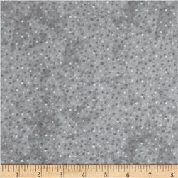 Essentials Flannel Petite Dots Grey