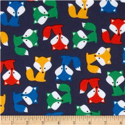 Urban Zoologie Flannel Foxes Adventure