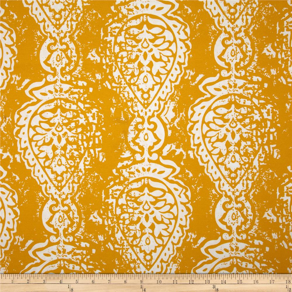 Premier Prints Indoor/Outdoor Manchester Citrus Yellow