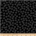 Kaufman Remix Bubble Dot Black