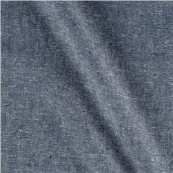 Linen Blend Denim Blue