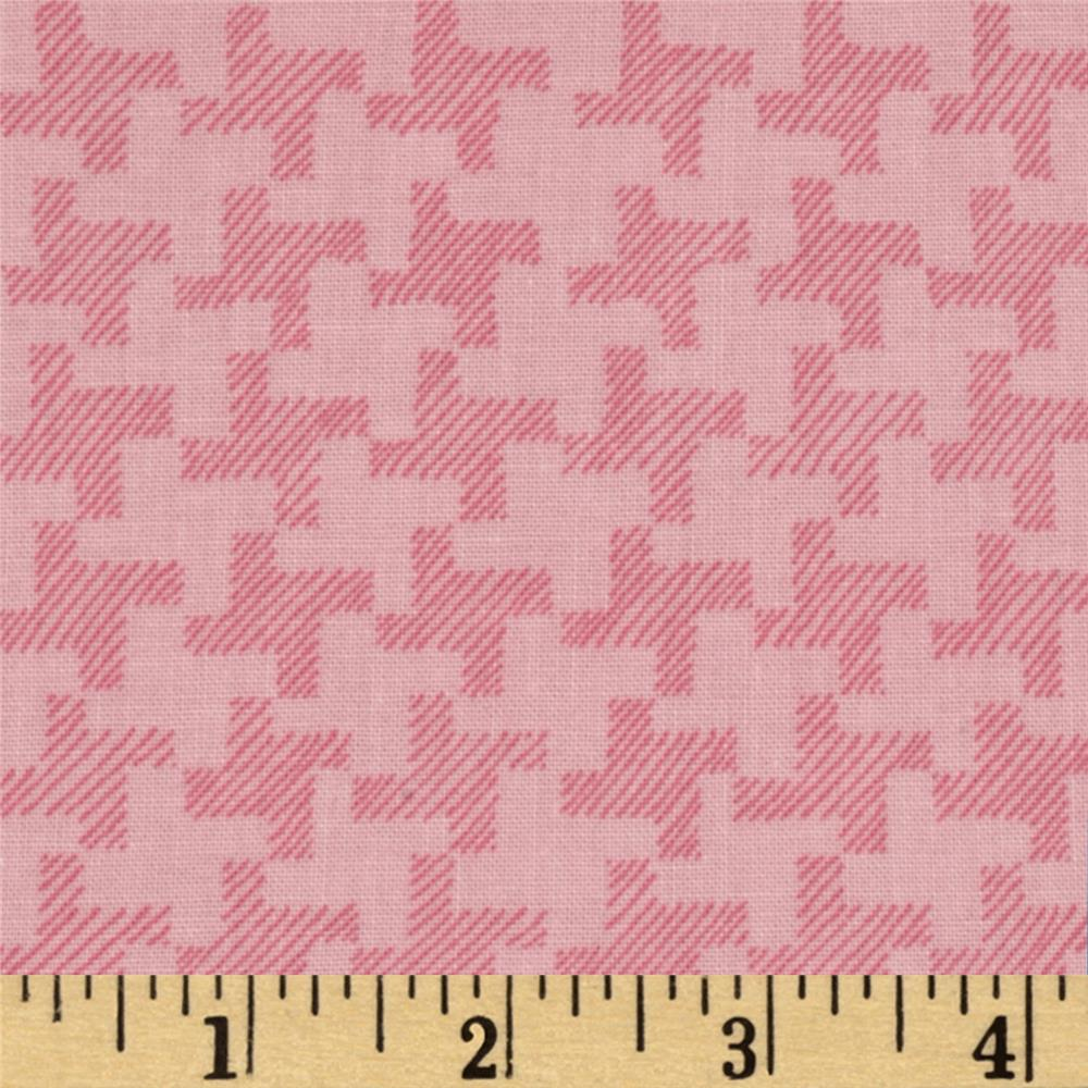 Jams & Jellies Houndstooth Pink