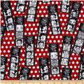 Betty Boop Flannel Red