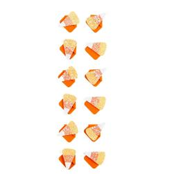 Martha Stewart Crafts Stickers Candy Corn Photo Corners