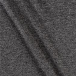French Terry Knit Solid Graphite