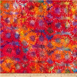 Island Batik Sunflower Multi