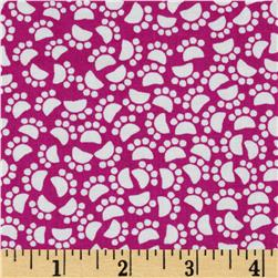 Michael Miller Midnite Gems Pet Paws Jewel Fabric