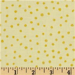All That Glitters Polka Dot Soft Yellow