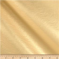 Richloom Tough Faux Leather Helsing Metallic Gold
