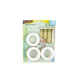 Curtain Grommets 1 9/16'' White