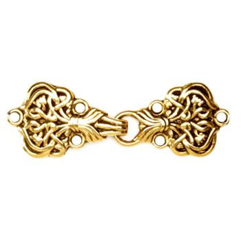 Buckles 2 1/4'' Alpine Clasp Antique Gold
