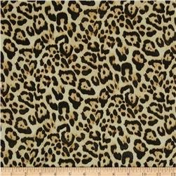 Isabella Satin Leopard Gold/Black