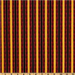 Phantom of the Opera Masquerade Stripe Red/Gold