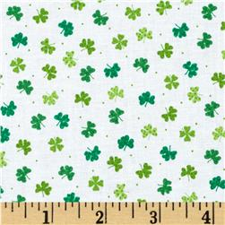 Mini Shamrocks White