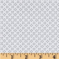 Uppercase Butterfly Floral Grey